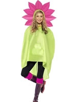 Flower Party Poncho Festival Costume