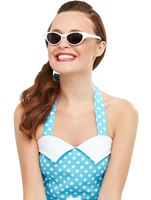 Flyaway Style Rock and Roll Sunglasses [50768]
