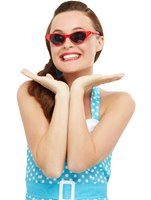 Flyaway Style Rock and Roll Sunglasses [50769]