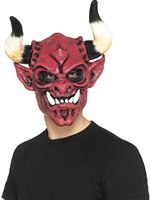 Foam Latex Devil Full Overhead Mask
