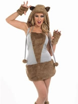 Adult Fox Lady Costume