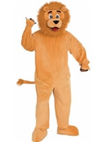 Adult Lion Mascot Costume [70529]