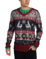 Adult Ugly Frisky Deer Christmas Jumper