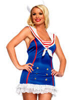 Adult Frisky First Mate Sailor Costume [83669]