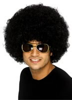 Funky Afro Black Wig [42017]