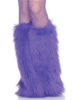 Furry Leg Warmers Various Colours [3934]