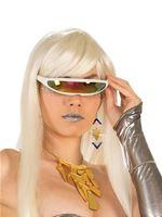 Futuristic Cyborg Glasses [X75208]