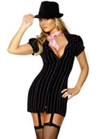 Gangster Ladies Costume