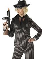 Adult Gangster Lady Costume [01089]