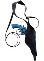 Gangster Shoulder Holster and Gun