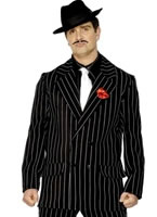 Adult Gangster Zoot Suit Costume