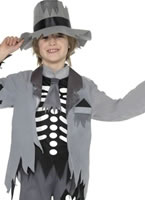 Ghost Groom Childrens Costume