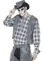 Adult Ghost Town Cowboy Costume