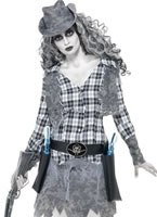 Adult Ghost Town Cowgirl Costume [11223]