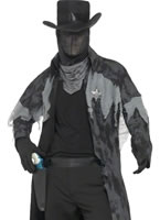 Adult Ghost Town Phantom Sheriff Costume