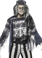Adult Ghostly Pirate Costume