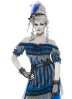 Adult Ghostly Saloon Girl Costume [28911]