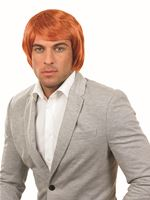 Adult Ginger Boy Band Wig