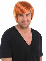 Ginger Boy Band Wig