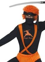 Ginger Ninja Hero Costume