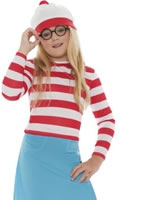Child Where's Wally Wenda Costume [38793]