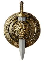 Gladiator Combat Shield and Sword [60501]