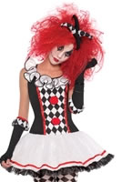 Teen Harlequin Honey Costume