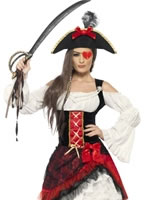 Adult Glamorous Lady Pirate Costume [23281]