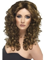 Glamour Wig Brown [42150]