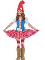 Toddler Gnome Girl Costume [116111]