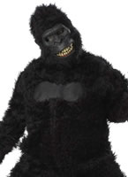 Adult Goin' Ape Gorilla Costume with Motion Mask