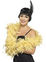 Gold Deluxe Feather Boa