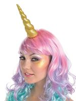 Gold Glitter Unicorn Headband [8400393-55]