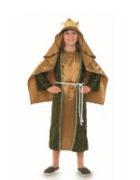Childrens Gold Wise Man Costume