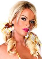 Goldilocks Gingham Hair Bows [A1049]