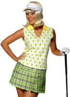 Adult Gone Golfing Ladies Costume