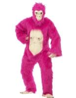 Adult Deluxe Pink Gorilla Costume [45392]