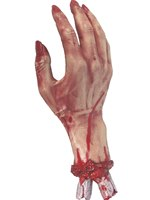 Gory Severed Hand Rubber