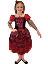 Gothic Ball Gown Child Costume [996251]