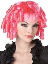 Gothic Doll Hot Pink Wig [70025]
