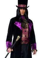 Adult Deluxe Gothic Manor Count Costume