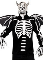 Adult Demon Bones Costume