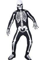 Adult Glow in the Dark Bones Costume