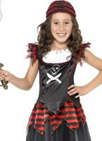 Child Gothic Pirate Costume
