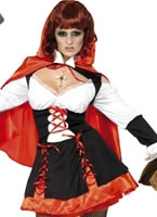 Gothic Red Riding Hood Costume [31239]