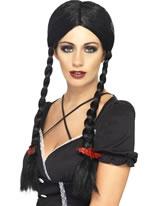 Gothic School Girl Wig [21862]