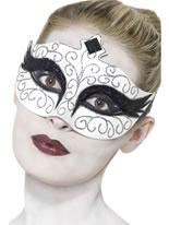 Adult Gothic Swan Eyemask [27318]