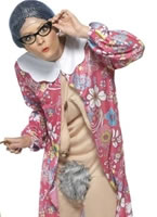 Adult Gravity Granny Costume