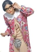 Adult Gravity Granny Costume [39343]