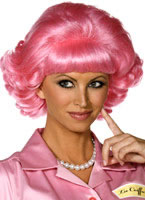 Grease Frenchy Pink Wig [42127]